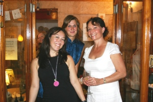 Claudia, Blanca and Trudi