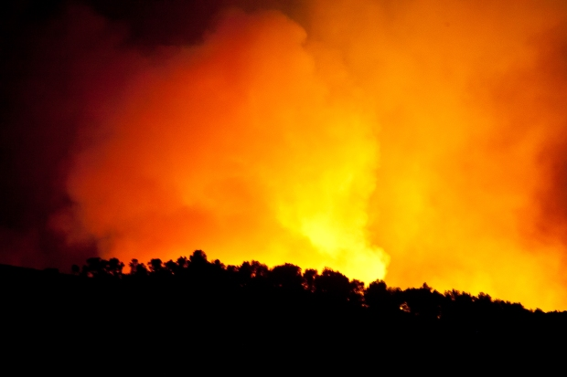 s'Arracó, forest fire, Mallorca, Oliver Neilson
