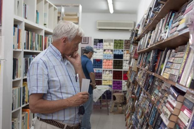 Universal Bookshop, Portals Nous, Mallorca, Kay Halley