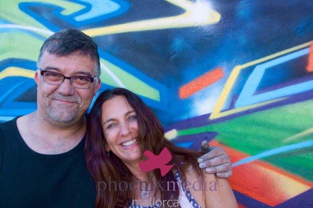 Suzie Black, Dave Vegas, Shambhala Foundacion, Photographer Vicki McLeod