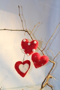 Hearts on Branch