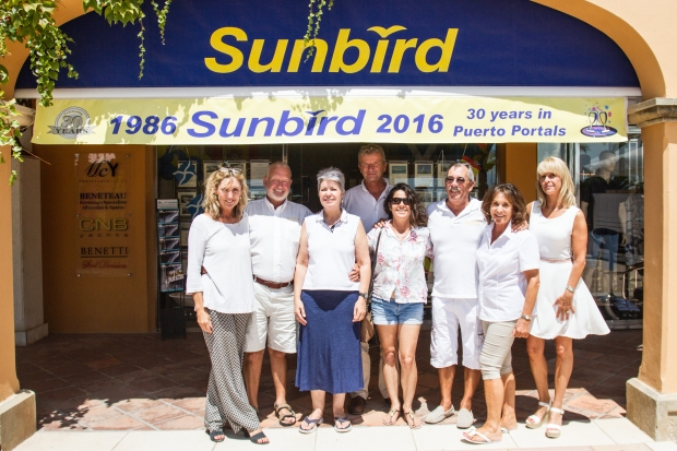 The Sunbird team