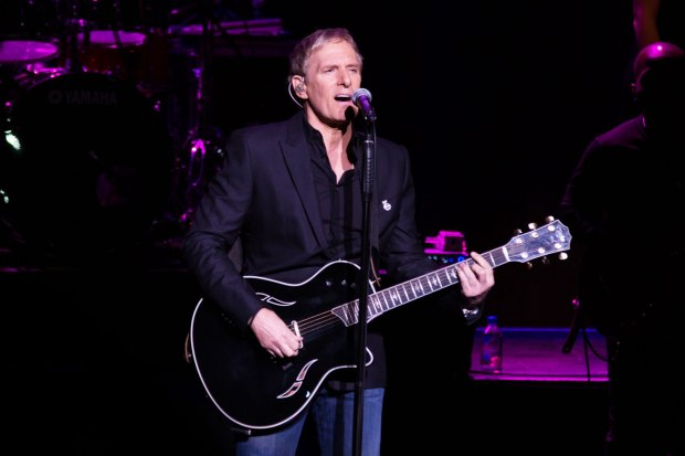 Michael Bolton Performs At St David's Hall In Cardiff